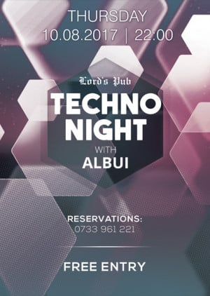 Techno Night with Albui