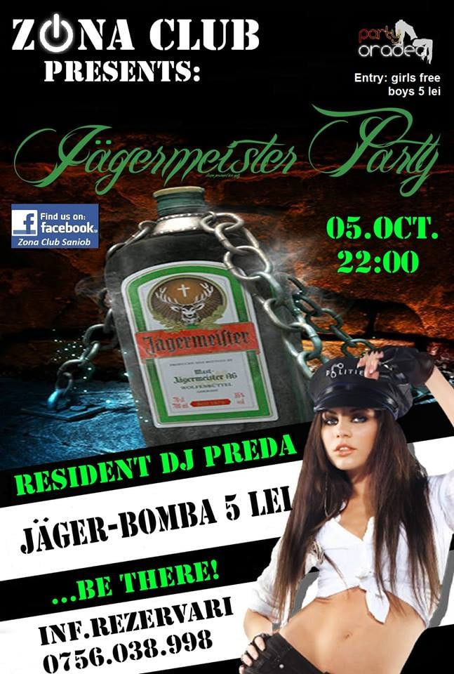 Zona club jagermeister party