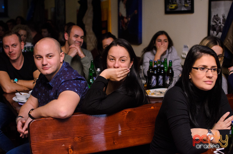 Stand-Up Comedy | Serghei & Anisia, Queen's Music Pub